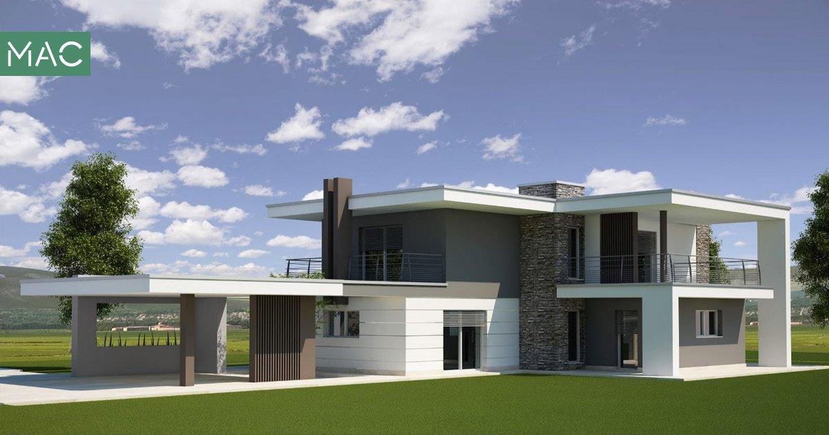 Render Casa passiva - Mac Costruzioni Generali